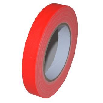 Gaffer Tape Neon (fluoreszierend) 19mm x 25m, orange