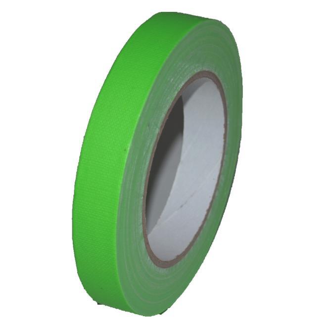Gaffer Tape Neon (fluoreszierend) 19mm x 25m, grün