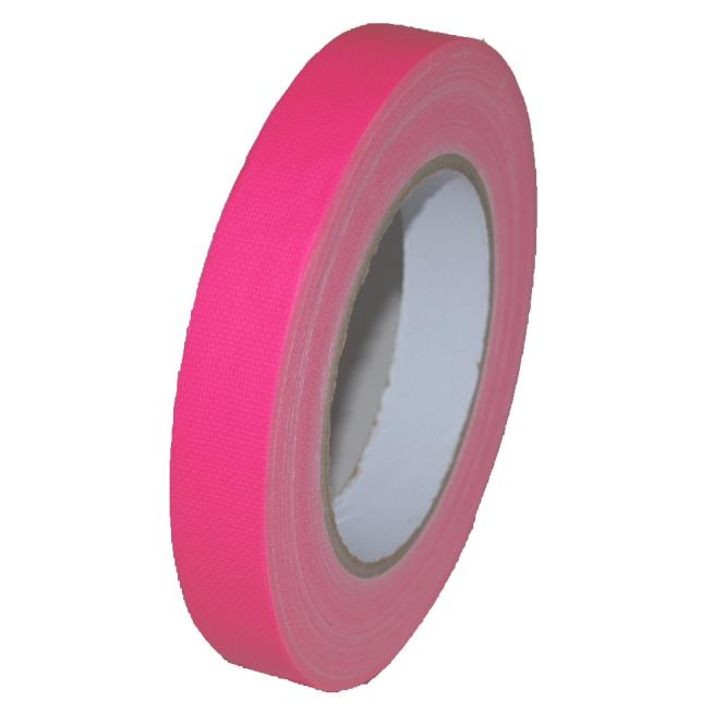 Gaffer Tape Neon (fluoreszierend) 19mm x 25m, pink