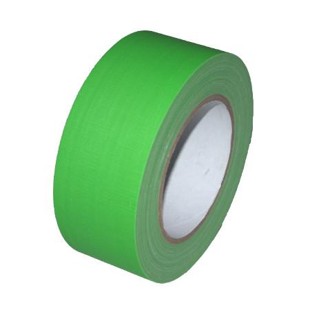 Gaffer Tape Neon (fluoreszierend) 50mm x 25m, grün